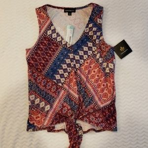 NWT FORTUNE & IVY ladies tank size M